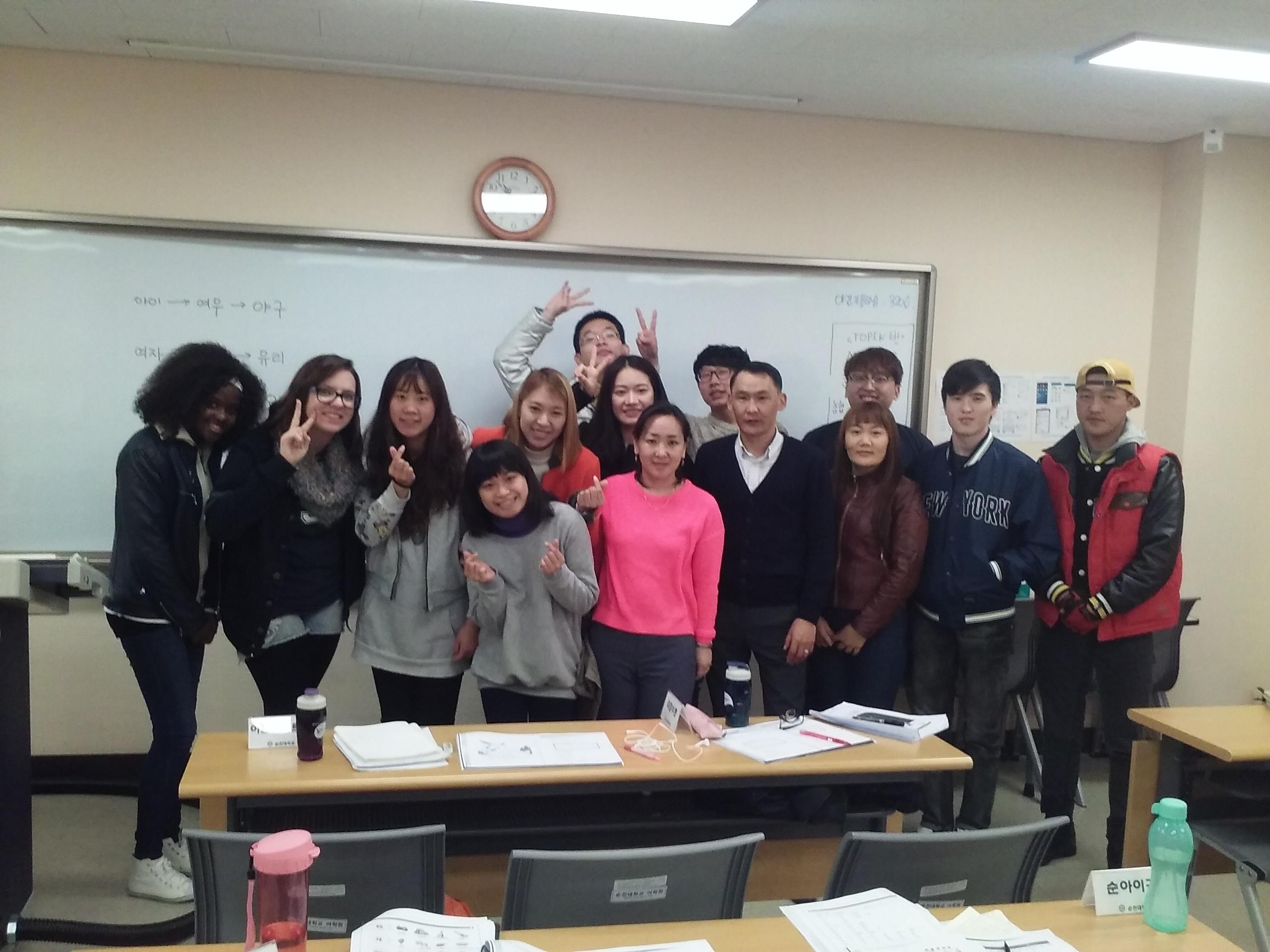 Eu e minha classe.