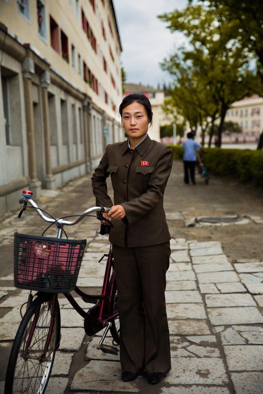As bicicletas são o veículo mais popular.