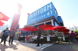 O Recentemente Inaugurado Complexo De Artes E Performances Da Plataforma Changdong 61, Em Dobong-Gu (Yonhap)