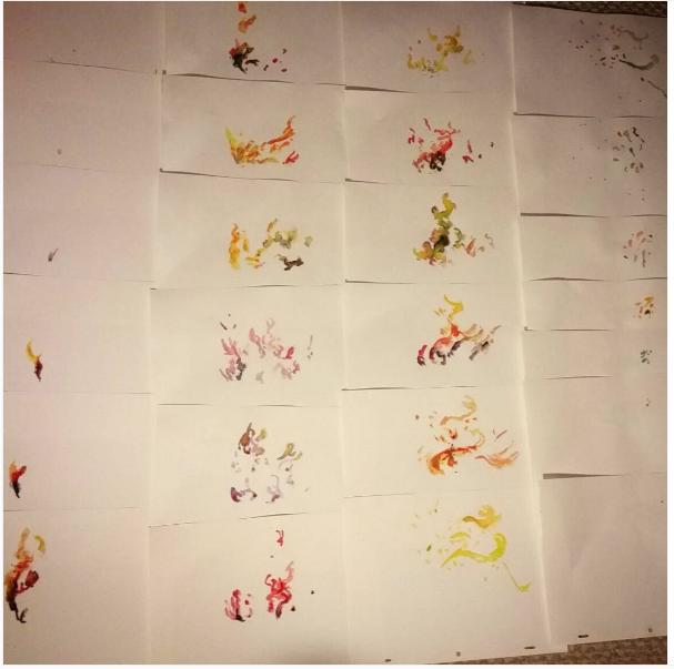 Pinturas Que Serão Digitalizadas E Transformadas Em Animação. Foto: Instagram @Will1005