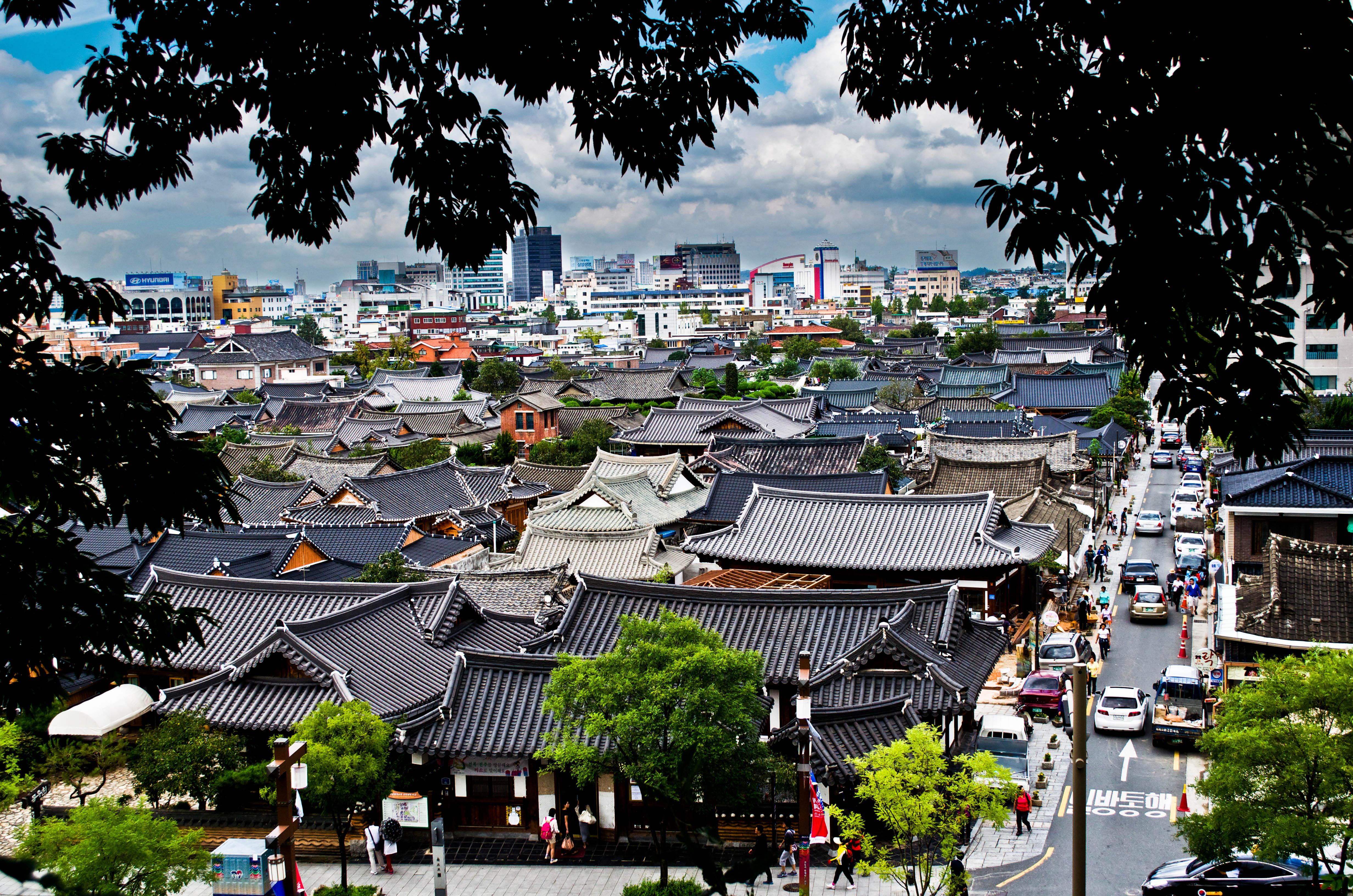 Vilarejo de Jeonju.