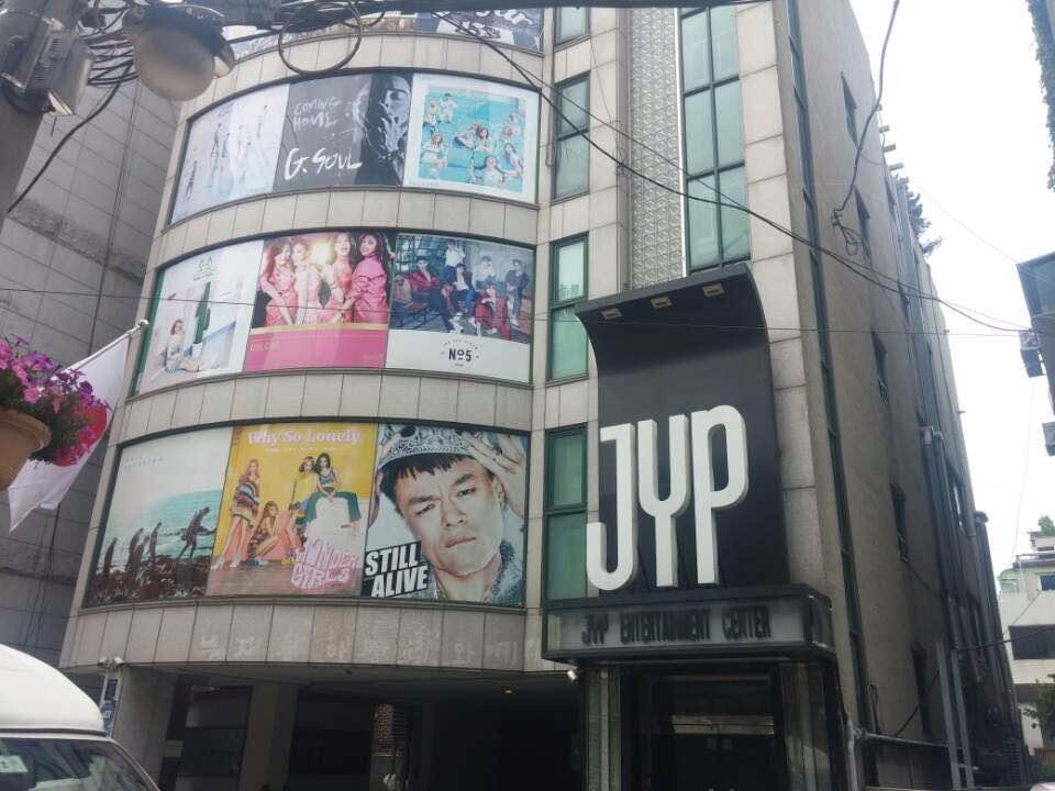 Prédio da JYP... GOT7 Cadê você??