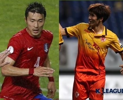 Volantes: Park Yong-Woo e Lee Chan-Dong. (Fonte: google)