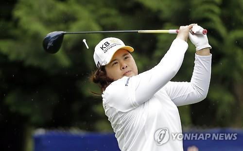 Melhor atleta do país no golfe feminino, Park InBee passa por uma temporada marcada por lesões. Foto: Yonhap