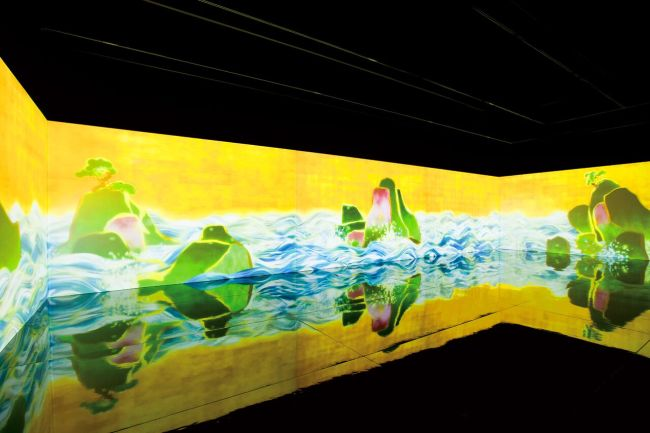 """100 Years Sea"" por teamLab, 2009 (teamLab)"