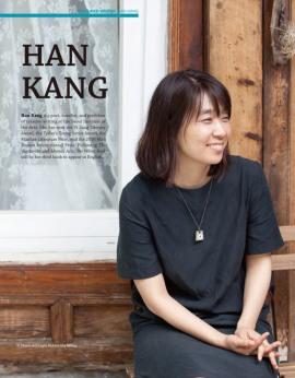 """Um trecho da tradução ao inglês de """"The White Book"""", o novo livro da escritora Kang Han, premiada pelo Man Booker International Prize, está incluido na Korean Literature Now (LTI Korea)."""