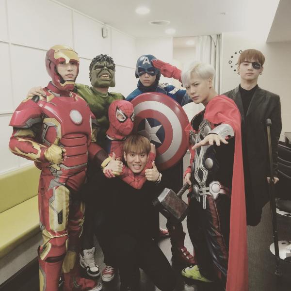 Fonte: Instagram do Jackson do GOT7