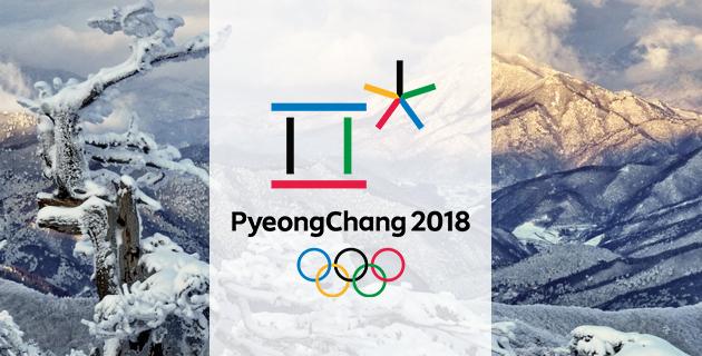 O logo oficial dos Jogos de 2018.