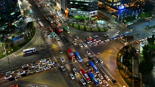 O tráfego de Seul é considerado perigoso e desorganizado. Foto: Getty Images