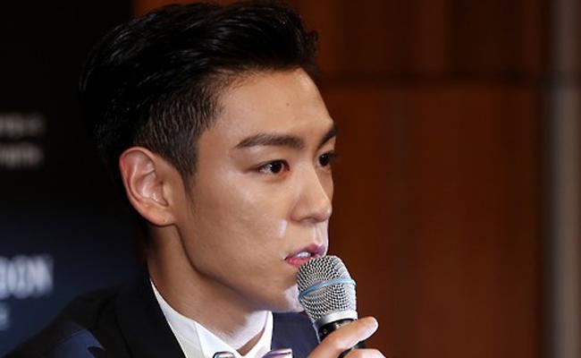 Rapper T.O.P of K-pop boy band BigBang / Yonhap