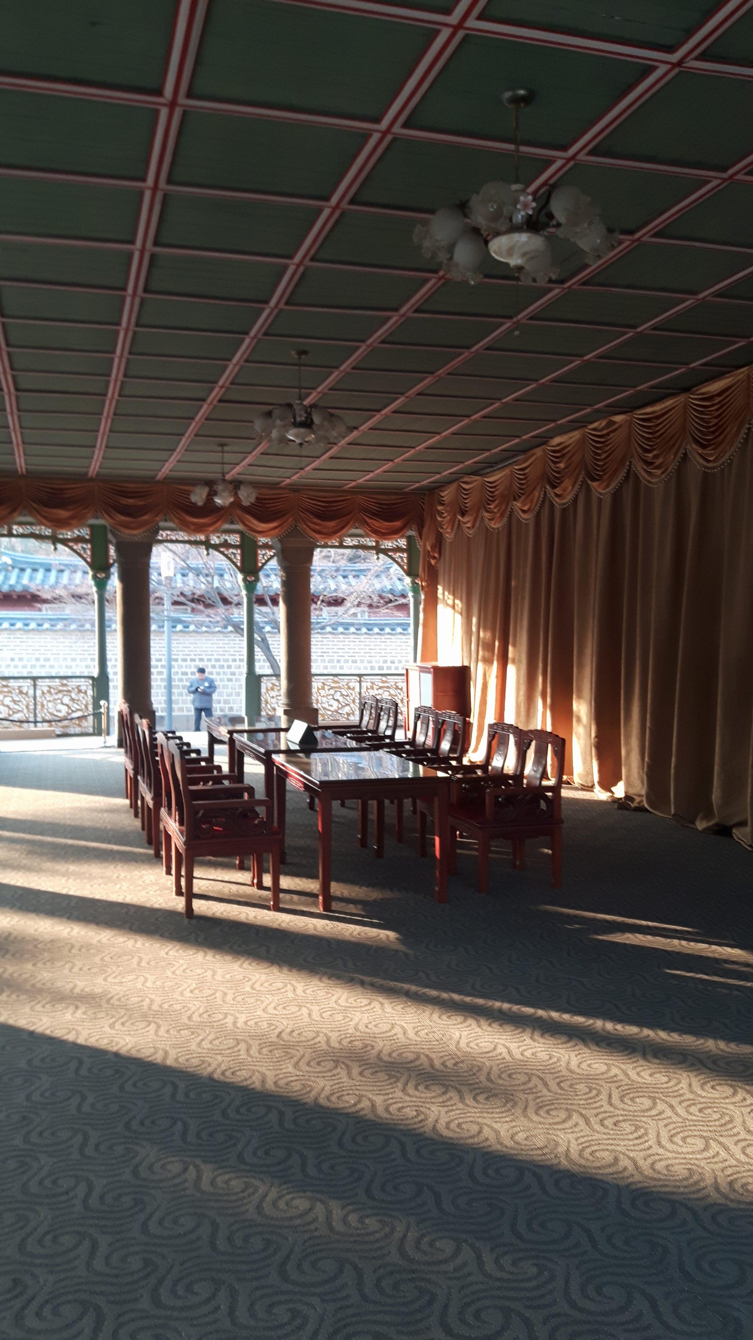 Pavilhão Jeonggwanheon, acervo pessoal