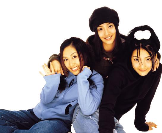 O S.E.S em sua estreia em 1997.