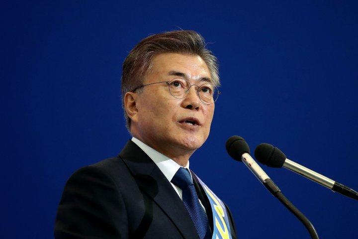 O atual Presidente da Coreia do Sul, Moon Jae-in. Foto: Time