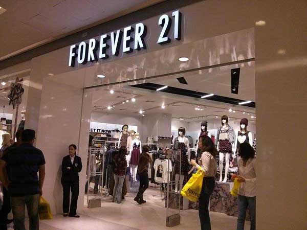 Forever 21 do Shopping Vila Olímpia