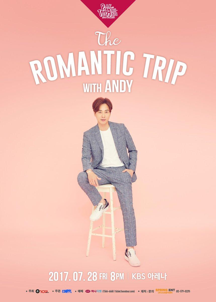 Poster Da Apresentação Individual Do Andy. Foto: Top Media