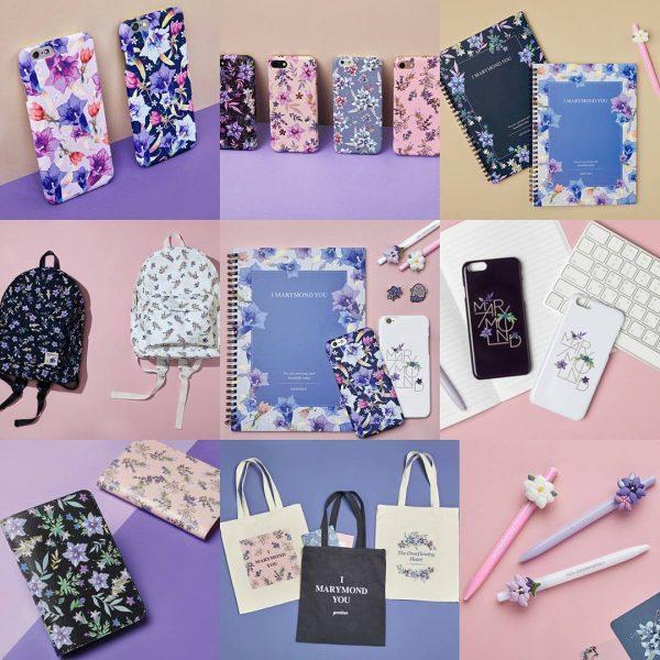 Alguns produtos da Marymond. Foto: Korea Herald