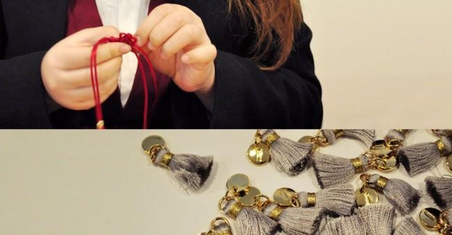 Confecção de Produtos da Craftlink. Foto: Korea Herald