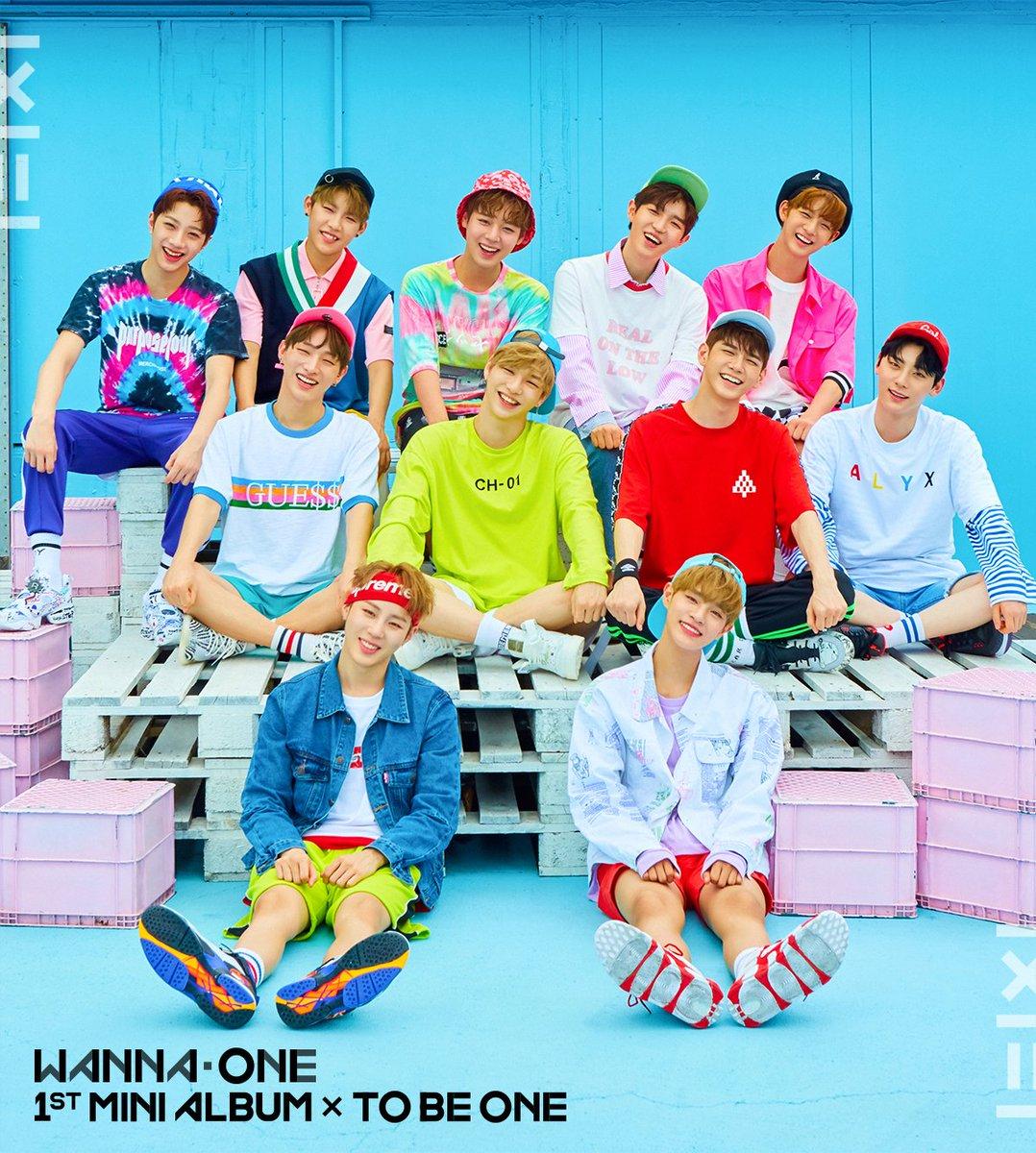 'To Be One', primeiro mini-álbum do Wanna One. Imagem: YMC Entertainment/ CJ&EM.
