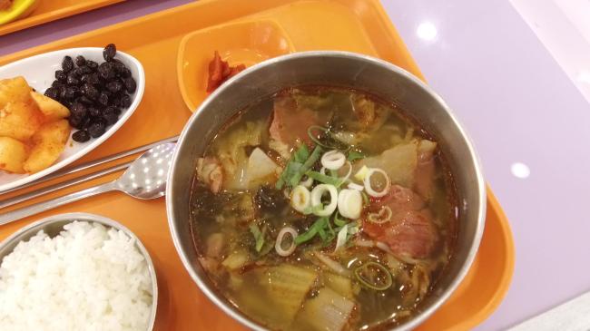 Maljuk sogogi gukbap (Lim Jeong-yeo / The Korea Herald)