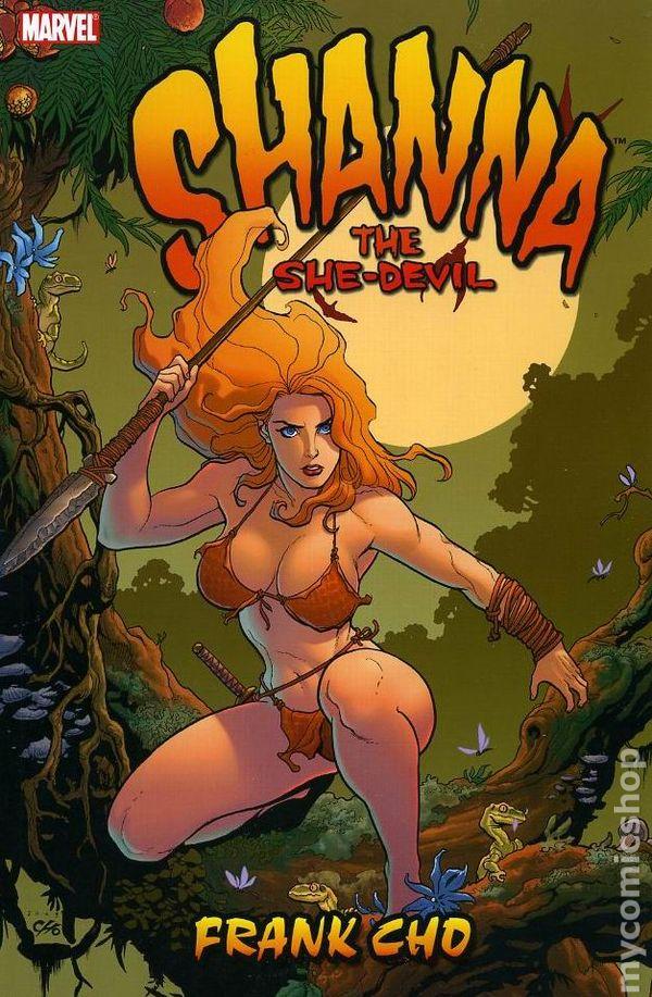 Shanna, a heroína pré-histórica de Frank Cho. Foto: Marvel