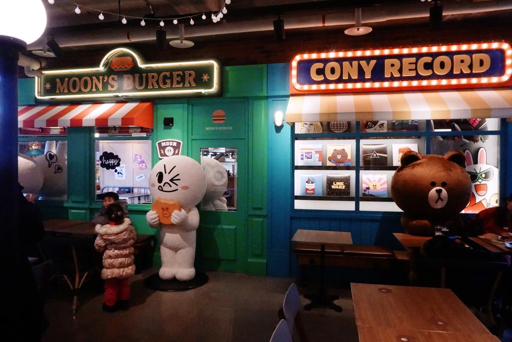 Line Cafe Itaewon. Foto: http://chezabelll.com
