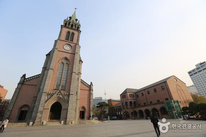 Catedral Myeong-Dong. Foto: Visit Korea.