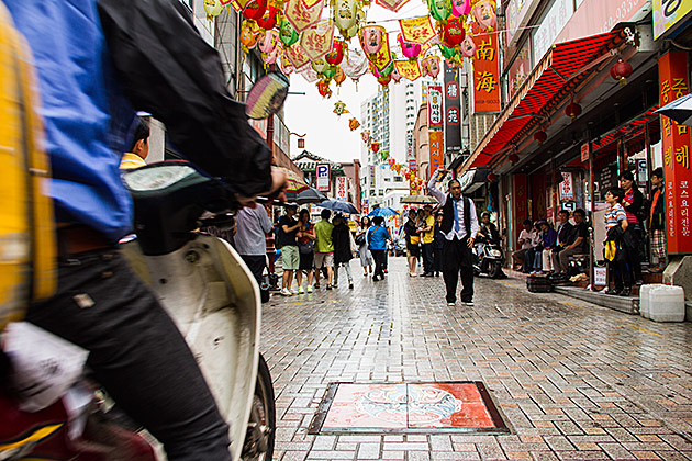Shangai Street (Busan Chinatown) / Foto: Busan for 91 Days.