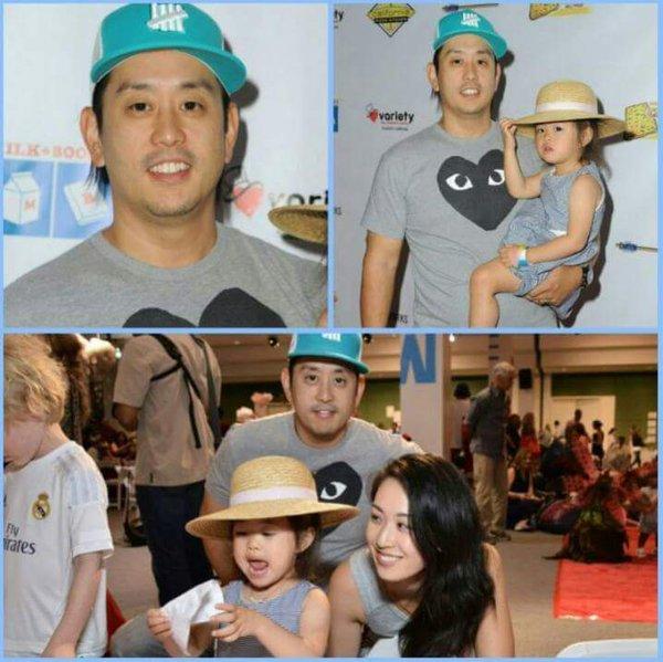 Joe Hahn em família. Foto: Twitter