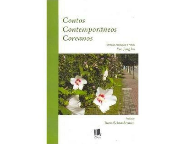 """Capa do livro """"Contos Contemporâneos Coreanos"""""""