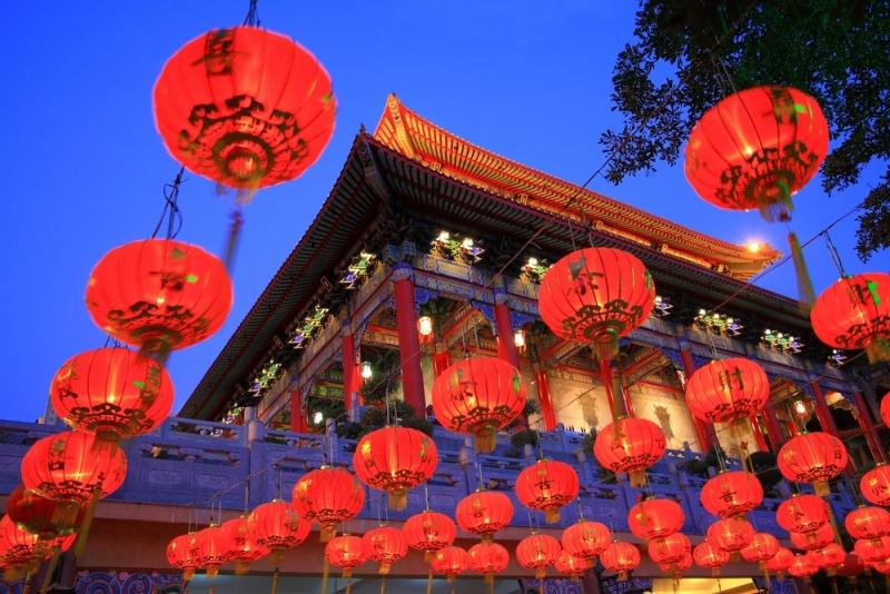 Decorações tradicionais do Ano Novo Chinês. Foto: Daily Hive