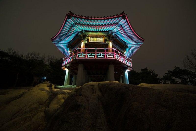 Monte Acha em Gwangjin-gu. Foto: Pixabay