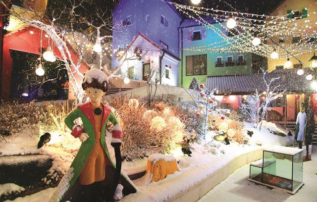 Petit France decorada para o evento de natal. Foto: BnB Hero
