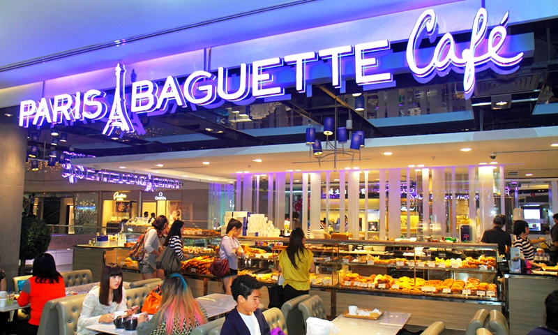 Rede coreana de padarias Paris Baguette. Foto: The Guardian