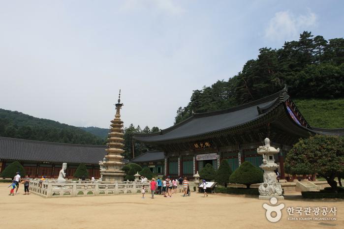 Templo Woljeongsa. / Foto: Korea Tourism Organization