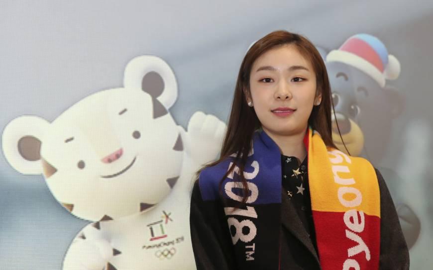 """Kim Yuna, conhecida como """"Rainha Yuna"""" pela imprensa internacional se aposentou em 2014 após as olimpíadas de Sochi e foi escolhida como um dos embaixadores dos Jogos Olímpicos de 2018. Foto: Japan Times"""