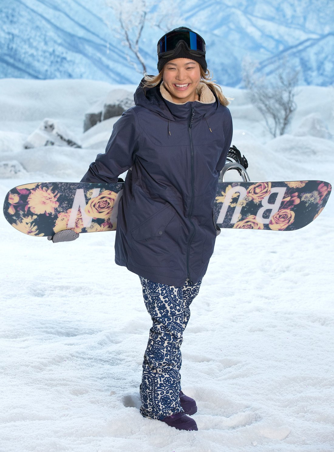 2018 Winter Olympic Games -- Pictured: Chloe Kim -- (Photo By: Justin Lubin/Nbc)