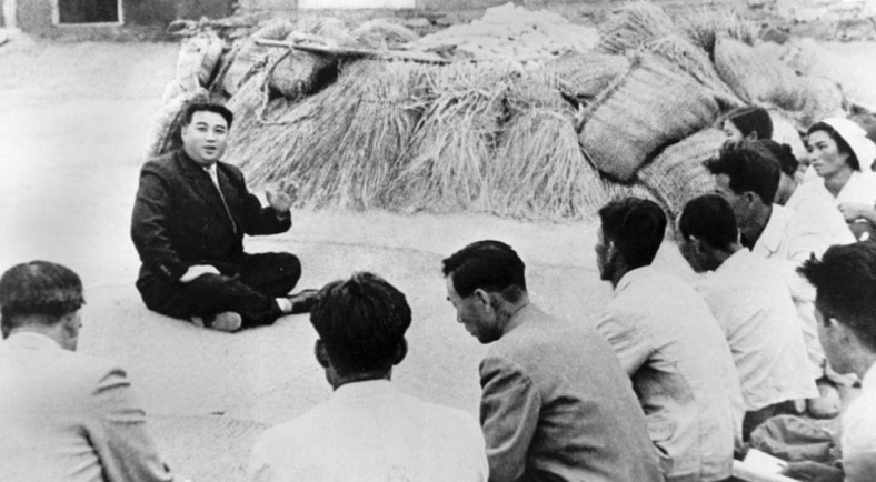 Kim Il Sung (avô de Kim Jun Un), foi nomeado pelas forças soviéticas para ser o primeiro lider da Coreia do Norte.