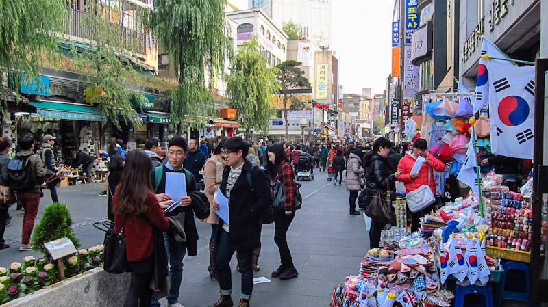 Insadong, Um Dos Pontos Turísticos Mais Populares De Seul (Imagem: Theseoulguide.com)