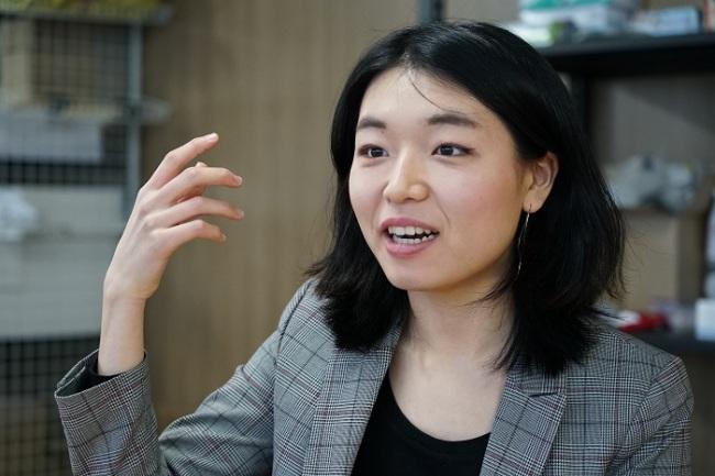 Gina Park (Foto por Lim Jeong-yo/The Korea Herald)