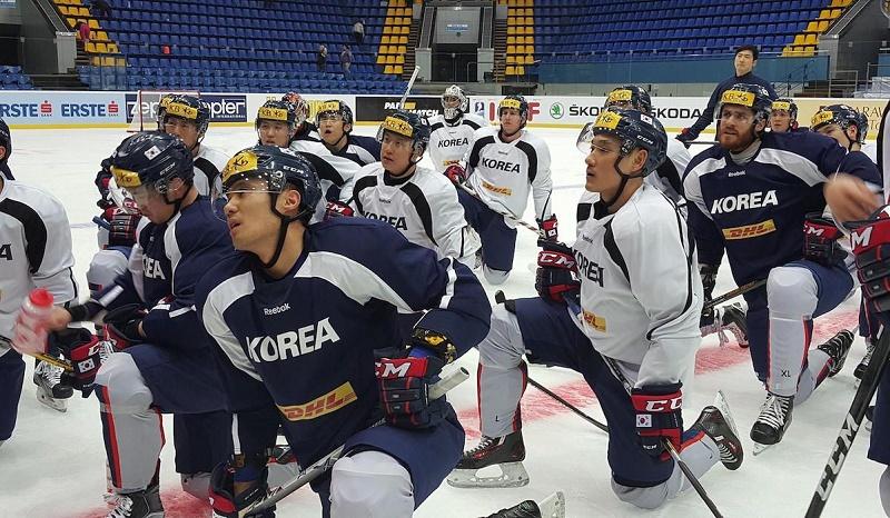 Time De Hockey Da Coreia Do Sul