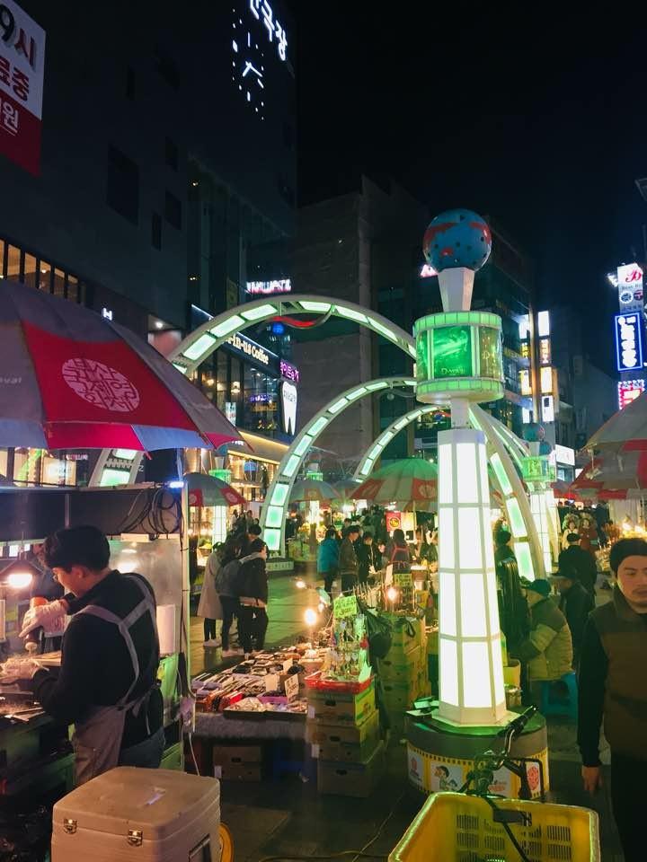 Busan Film Festival Park.
