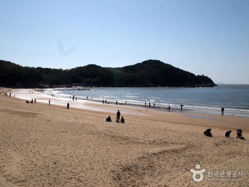 Praia Eurwangni / Foto: Korea Tourism Organization