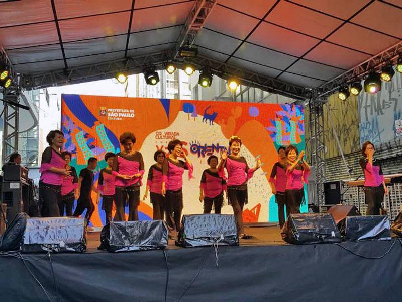 O grupo Aclimação Line Dance dançou animadas coreografias!
