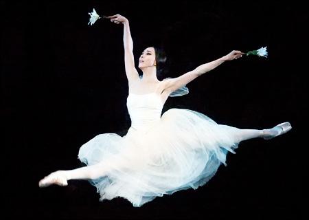 """Seo Hee em uma recente produção de """"Giselle"""". Foto: American Ballet Theater"""