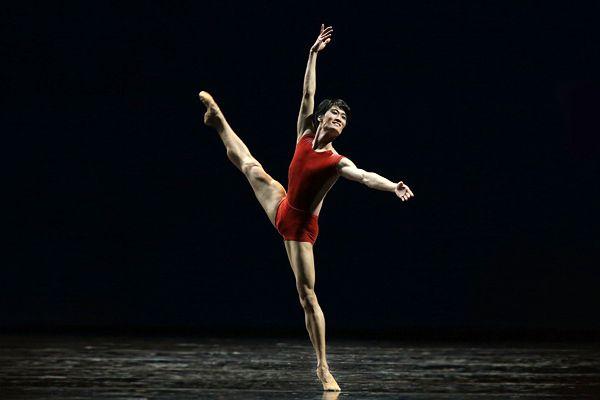 O bailarino Kim Ki-min. Foto: Teatro Mariinsky