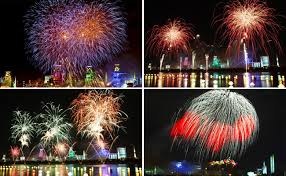 Pohang International Fireworks Festival. Foto: Visit Korea