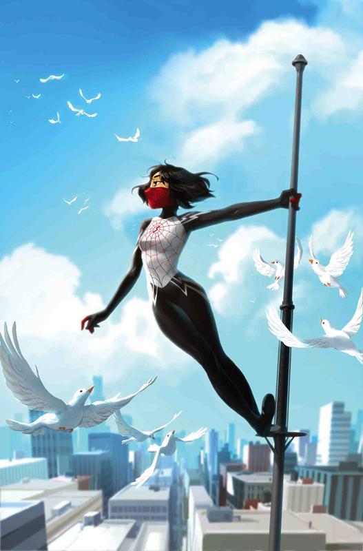 Arte de Helen Chen (Marvel Comics)