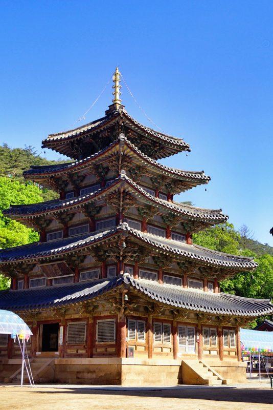 Templo de Beopjusa. Foto: Wikipedia