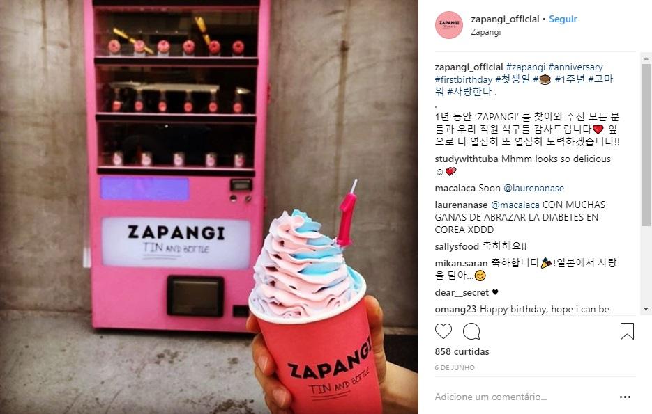 (Imagem: Instagram @Zapangi_official)