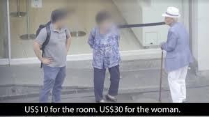 Imagens Da Reportagem Feita Pela Cna Insider Sobre Idosas Prostitutas Na Coreia Do Sul.